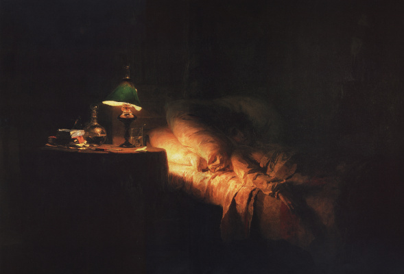 Vasily Dmitrievich Polenov. Sick