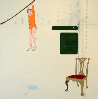 Ричард Бакстер. Красный стул