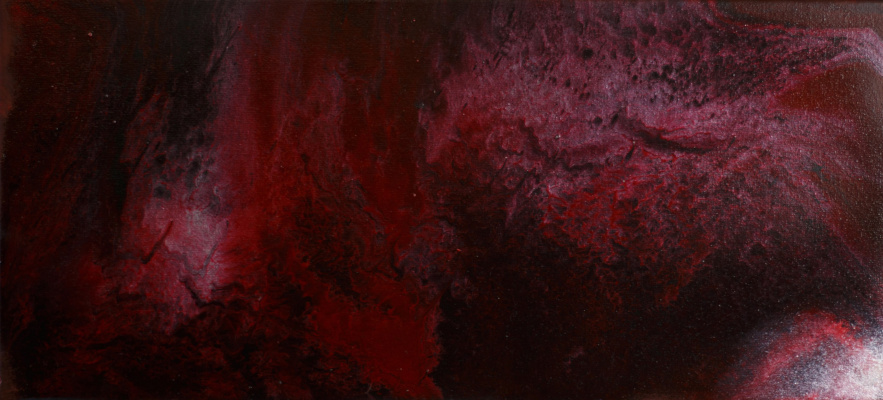 "Alla Struchayeva. Painting ""Ripple of the Universe"""