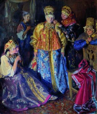 Иван Семенович Куликов. Убор невесты