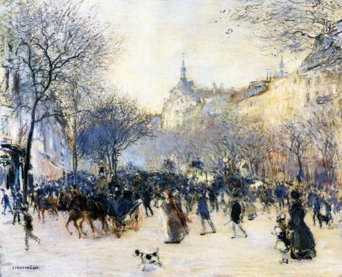 Жан-Франсуа Рафаэлли. Перекресток Друо