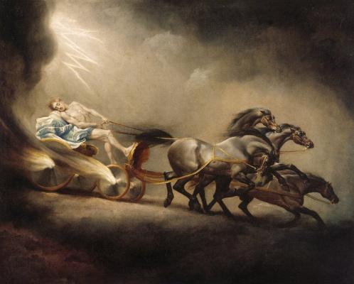 George Stubbs. The Fall Of Phaeton