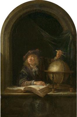 Gerrit (Gerard) Dow. Astronom