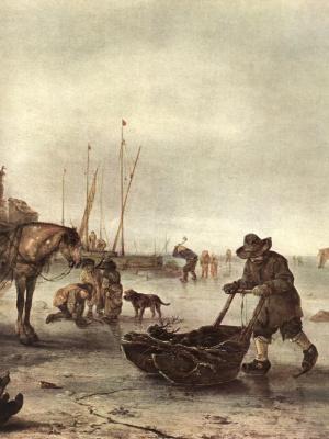 Адриан ван Остаде. Зима