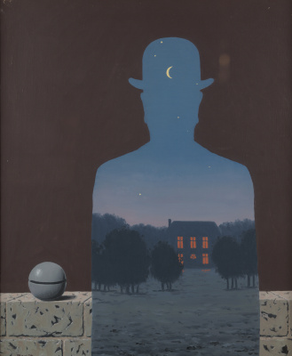 René Magritte. Happy giver