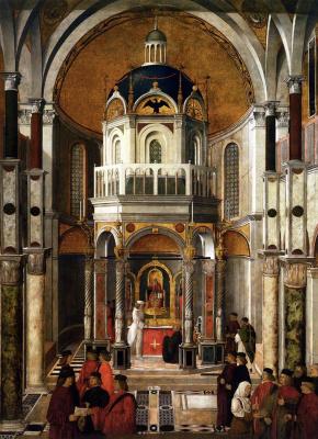 Gentile Bellini. Healing by Pietro dei Ludovici