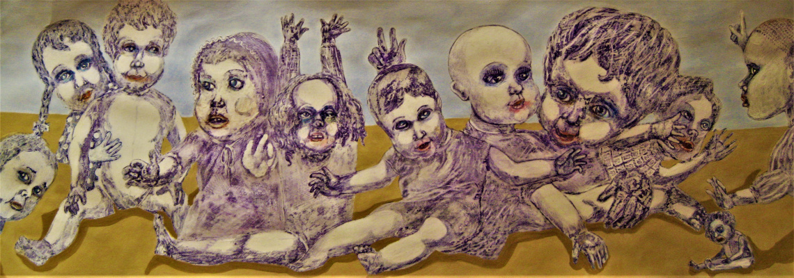 Andrey Trifonov. ,, Island of abandoned dolls ,,