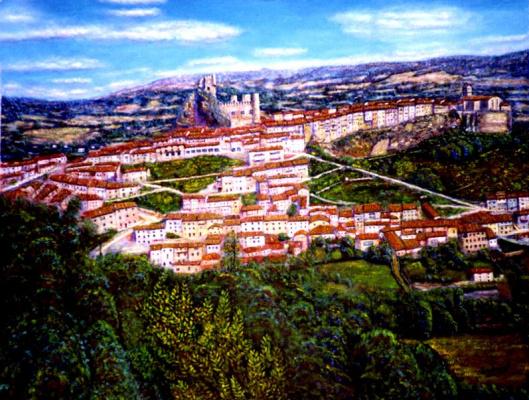 Франсиско Садорнил Сантамария. Вид на город