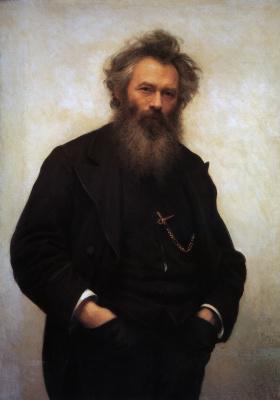 Ivan Nikolayevich Kramskoy. Portrait Of I. I. Shishkin