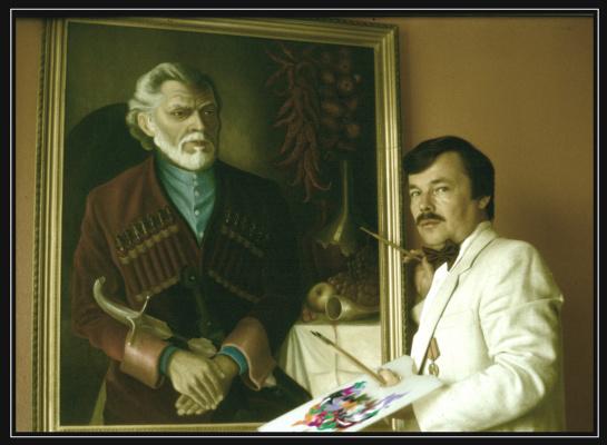 Vladimir Pavlovich Parkin. Artist Vladimir P. Parkin. 1990