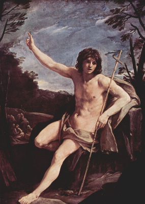 Guido Reni. SV. John the Baptist in the wilderness