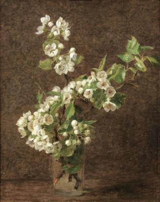 Виктория Дюбург (Фантен-Латур). Цветы яблони