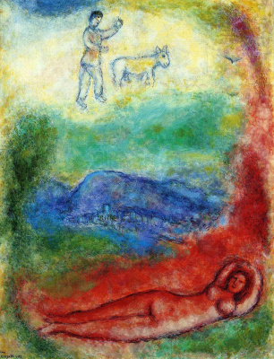 Marc Chagall. Stay
