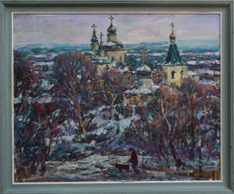 Igor Eduardovich Vasilevsky. Molchansky monastery