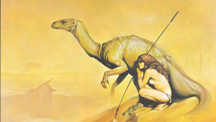 Мелвин Грант. Планета динозавров 3