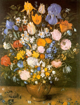 Jan Bruegel The Elder. A bouquet of flowers