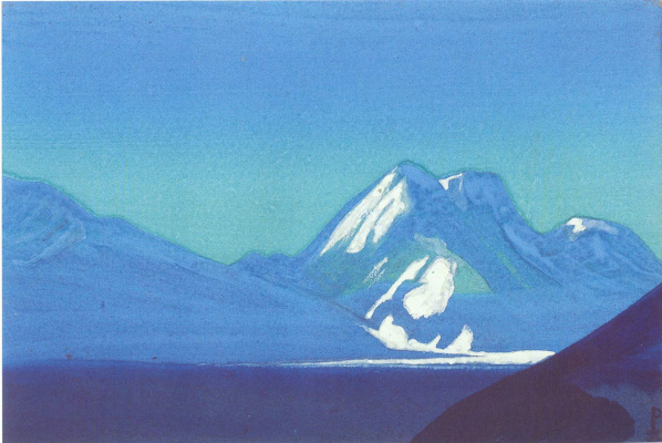 Nicholas Roerich. The Himalayas (Sapphire mountains)