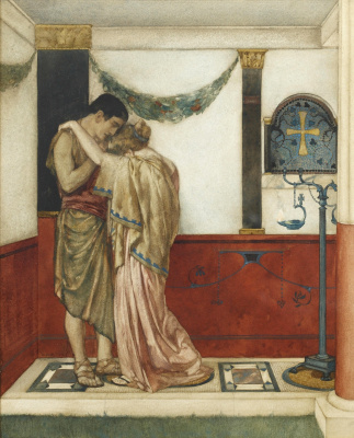 William Russell Flint 1880 - 1969 Scotland. The Canterbury Tales. 1912