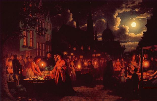 Джобан Калверхаус. Лунный рынок
