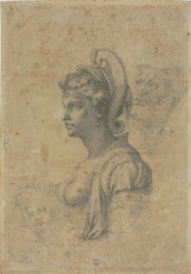 Michelangelo Buonarroti. Zenobia