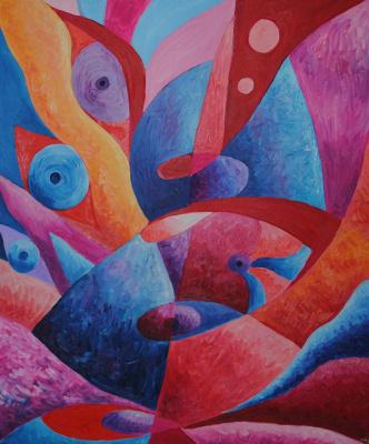 """Irina Shumskaya. The painting """"Waiting"""" Irina SHUMSKAYA"""