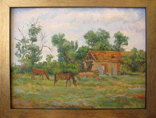 Yuri Davydov. The old stables