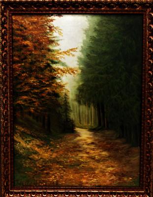 Natalia Viktorovna Tyuneva. Forest of my childhood