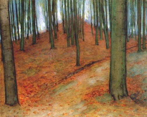 Пит Мондриан. Буковый лес