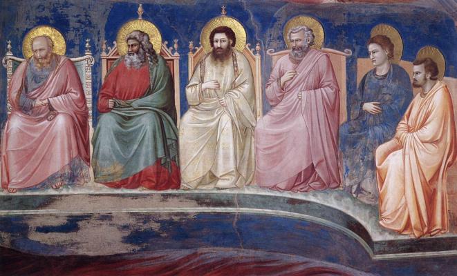 Giotto di Bondone. Judgment. Fragment 10