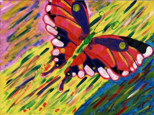 Nicodemus Alias. Butterfly
