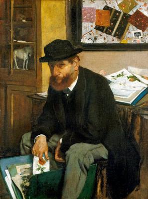 Edgar Degas. A collector of prints