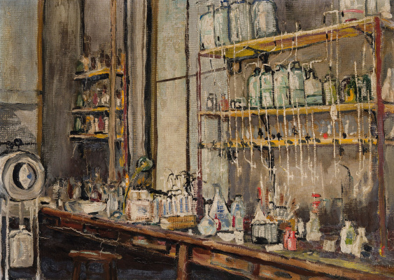 Frederick Grant Banting. The Lab