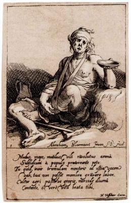 Abraham Bloomart. Beggar