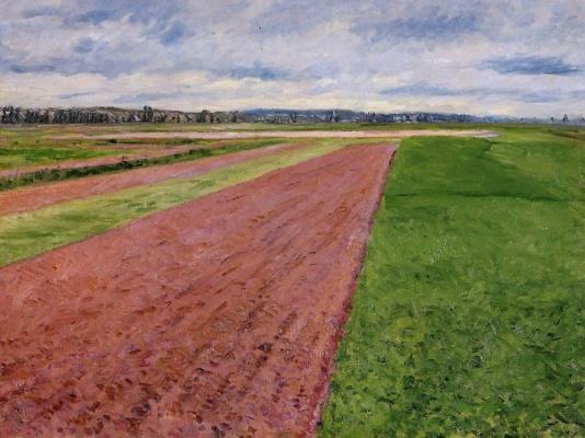 Gustave Caillebotte. Landscape