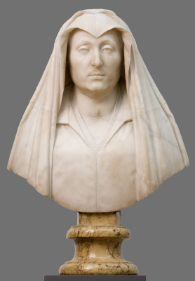 Джованни Лоренцо Бернини. Бюст Камиллы Барбадори, матери Папы Урбана VIII Барберини