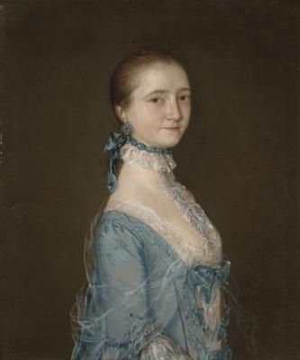 Thomas Gainsborough. Portrait of Elizabeth, wife of Richard Colville