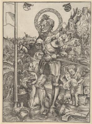 Lucas Cranach the Elder. St. George