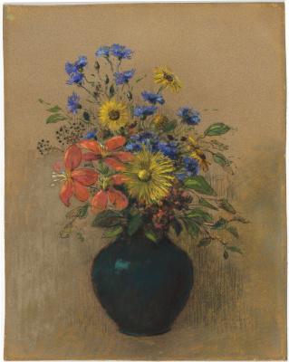 Odilon Redon. Wildflowers