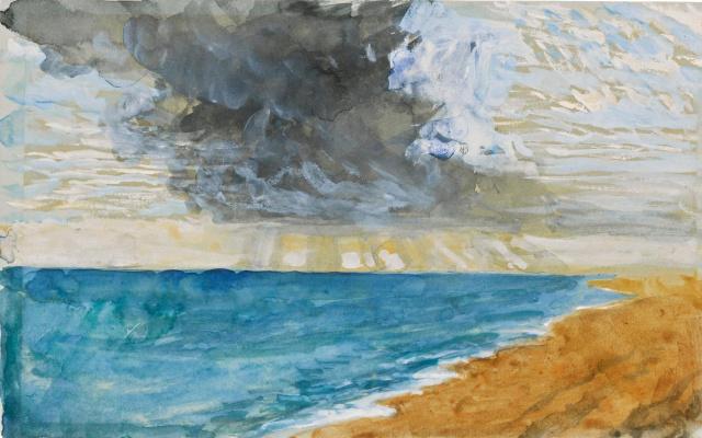 Джон Рёскин. Песчаный пляж