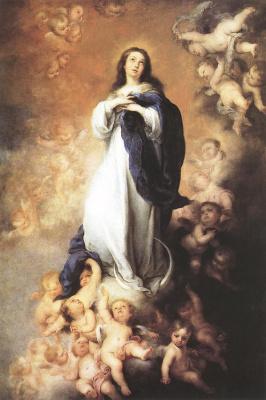 Bartolomé Esteban Murillo. Immaculate conception
