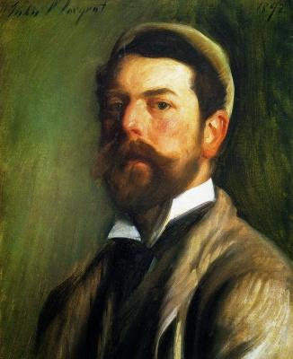 John Singer Sargent. Self-portrait