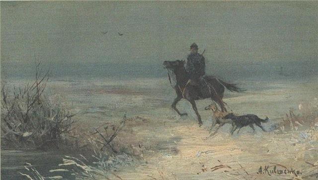 Alexey Danilovich Kivshenko. Hunting
