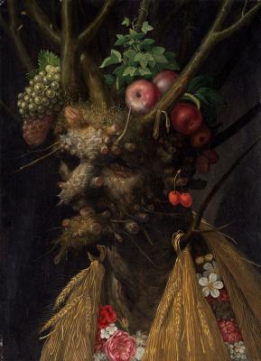 Джузеппе Арчимбольдо. 4 сезона в одном портрете