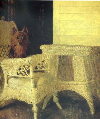 Jamie Wyeth. Dog