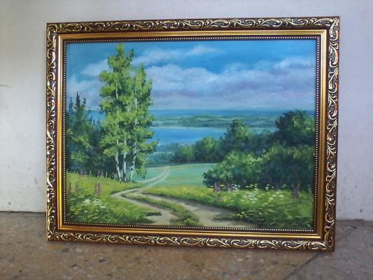 Olga Suncheleeva. Landscape