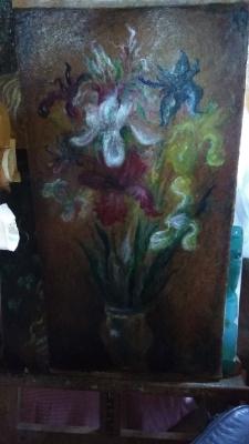 Igor Lvovich Zelenetsky. Irises