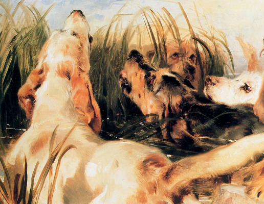 Edwin Henry Landseer. Dog barking