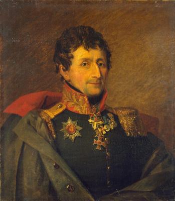 George Dow. Portrait of Joseph Nikolaevich (Gabriel) Galatte