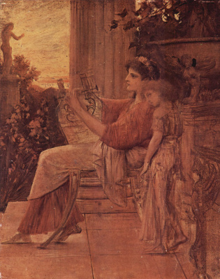 Gustav Klimt. Sappho