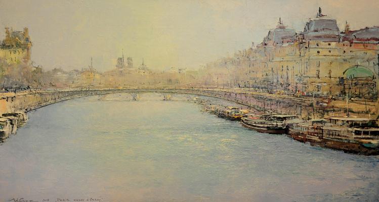 Andrew Hooke. Paris, Musee d'orsay